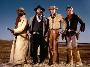 Silverado by LawrenceKasdan with Danny Glover, Kevin Kline, Scott Glenn and Kevin Costner, 1985 (ph