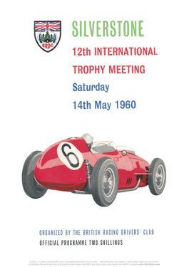 12th International Trophy Meeting - Silverstone Vintage Print by Silverstone