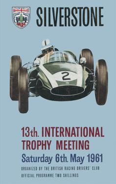 13th International Trophy Meeting - Silverstone Vintage Print by Silverstone
