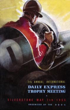 7th International Trophy Meeting - Silverstone Vintage Print by Silverstone