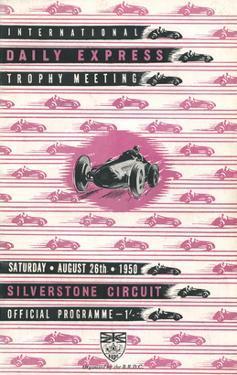 Silverstone Circuit - Silverstone Vintage Print by Silverstone