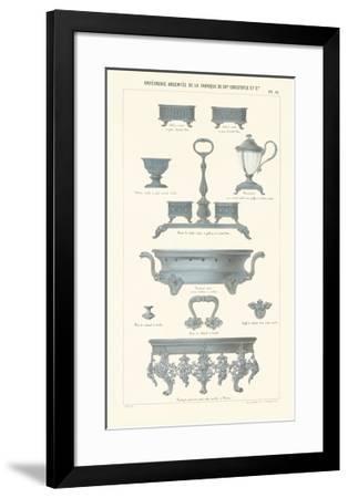 Silverware VI--Framed Premium Giclee Print