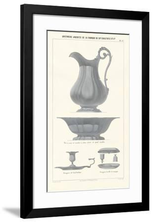 Silverware VII--Framed Premium Giclee Print