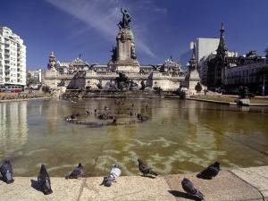 Buenos Aires, Plaza Del National Congress by Silvestre Machado