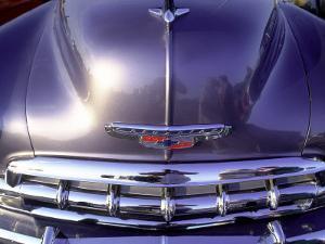 Close-up of a Chevrolet Car by Silvestre Machado