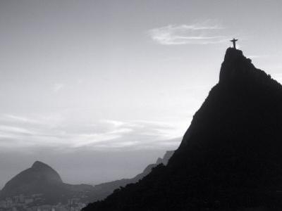 Corcovado Statue, Rio de Janeiro, Brazil by Silvestre Machado