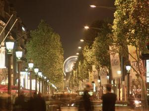 France, Paris, Champs, Elysees by Silvestre Machado