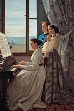 Folk Song by Silvestro Lega