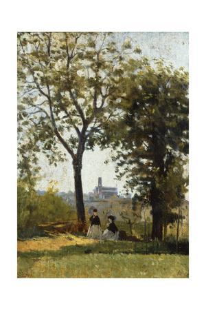 Monte Alle Croci (Hill of San Miniato), C. 1870