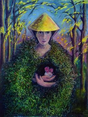 Brighid of the Green Mantle, 2007 by Silvia Pastore