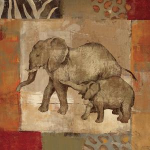 Animals on Safari III by Silvia Vassileva