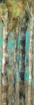 April Birch Forest Panel by Silvia Vassileva