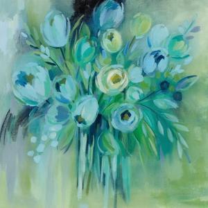 Aurora Borealis Florals by Silvia Vassileva