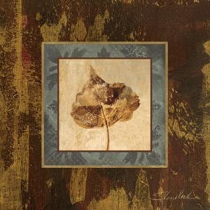 Autumn Leaf Square II by Silvia Vassileva