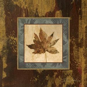 Autumn Leaf Square IV by Silvia Vassileva