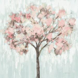 Blooming Tree Blush Crop by Silvia Vassileva