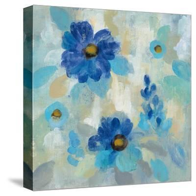 Blue Flowers Whisper II by Silvia Vassileva
