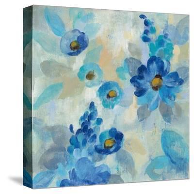 Blue Flowers Whisper III by Silvia Vassileva