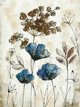 Botanical Trio II Neutral Crop by Silvia Vassileva