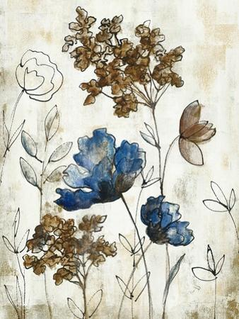 Botanical Trio III Neutral Crop by Silvia Vassileva