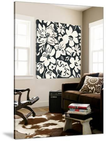 Chalkboard Floral II by Silvia Vassileva