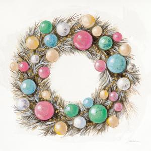 Christmas Glamour Wreath by Silvia Vassileva