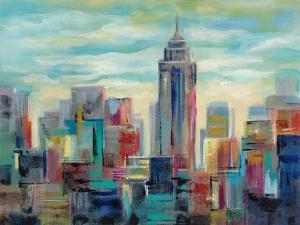 Colorful Day in Manhattan by Silvia Vassileva