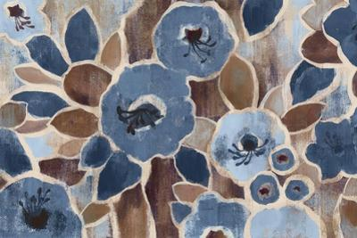 Contemporary Tapestry Blue