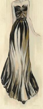 Evening Gown II Crop by Silvia Vassileva