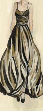 Evening Gown III Crop by Silvia Vassileva