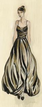 Evening Gown III by Silvia Vassileva