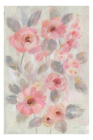 Expressive Pink Flowers I