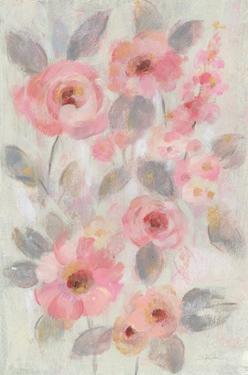 Expressive Pink Flowers I by Silvia Vassileva