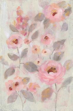 Expressive Pink Flowers II by Silvia Vassileva