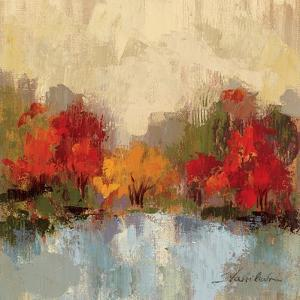 Fall Riverside I by Silvia Vassileva