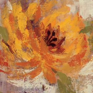 Fiery Dahlias I by Silvia Vassileva