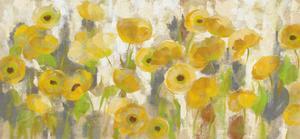 Floating Yellow Flowers I by Silvia Vassileva