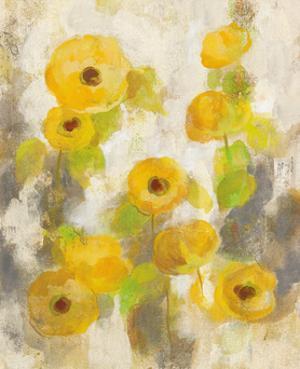 Floating Yellow Flowers II by Silvia Vassileva