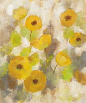 Floating Yellow Flowers III by Silvia Vassileva