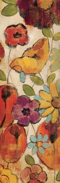 Floral Sketches on Linen II by Silvia Vassileva