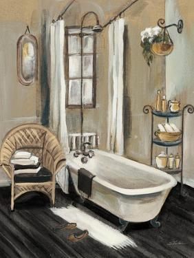French Bath II Black v2 by Silvia Vassileva