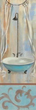 French Bathroom in Blue I by Silvia Vassileva