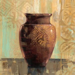 Glazed Pot II Decorative Accents by Silvia Vassileva