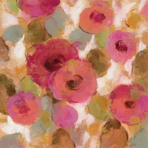 Glorious Pink Floral II by Silvia Vassileva