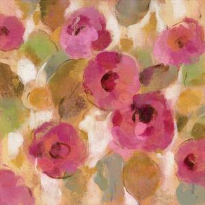 Glorious Pink Floral III by Silvia Vassileva