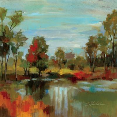 Hidden Pond Hues I by Silvia Vassileva