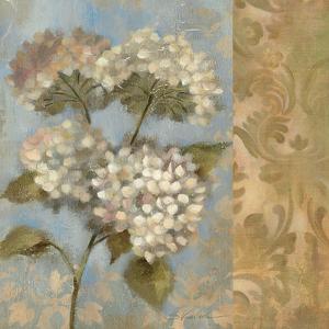 Hydrangea on Soft Blue by Silvia Vassileva