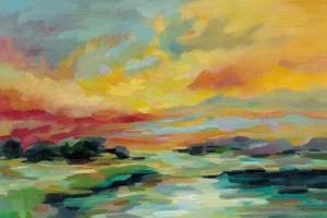 July Sunset by Silvia Vassileva