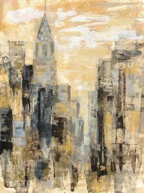 Manhattan Gray and Gold I by Silvia Vassileva