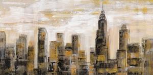 Manhattan Skyline by Silvia Vassileva